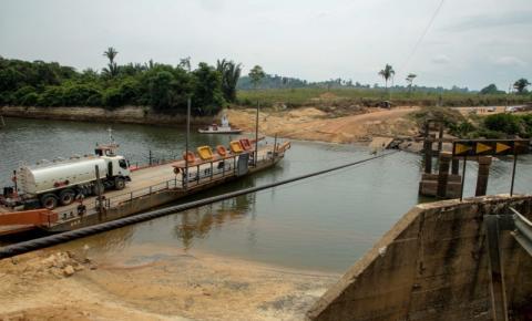 ALTO PARAÍSO: Governo de Rondônia assina ordem de serviço para construção da ponte mais segura e de mão dupla
