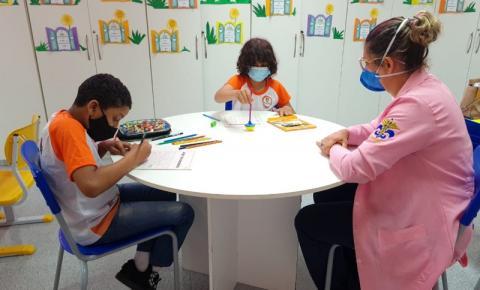Hospital Oncológico Infantil retoma as aulas presenciais para as crianças em tratamento contra o câncer