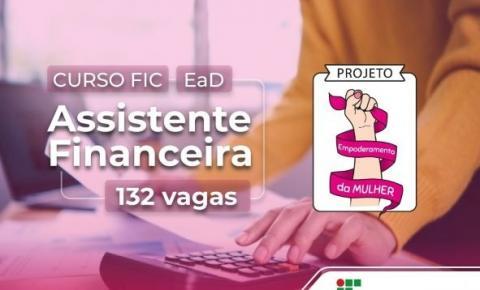 JI-PARANÁ: IFRO publica chamada para vagas remanescentes do curso FIC de Assistente Financeira