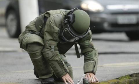 Esquadrão antibombas é acionado para desarmar explosivo em Rondônia