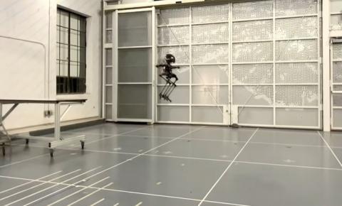 Pesquisadores constroem robô com pernas e que pode voar
