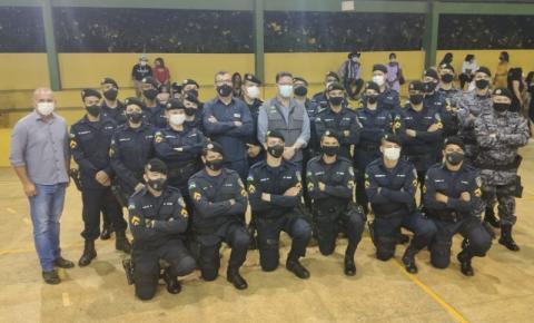 Em Vilhena, deputado Ezequiel Neiva prestigia promoção de cabos da Polícia Militar
