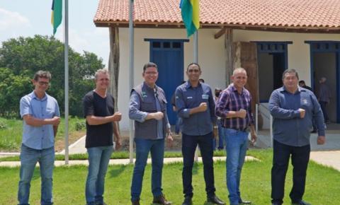 VILHENA: Luizinho Goebel participa da entrega das obras de revitalização do Museu Casa de Rondon