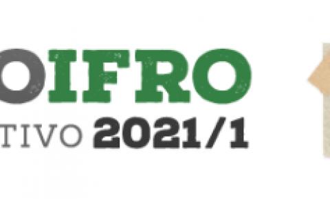 IFRO publica Edital para Cursos de Graduação Presencial 2021/1