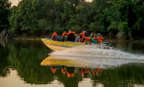 Equipes da Sedam e Batalhão da Polícia Ambiental intensificam fiscalização para coibir pesca ilegal no período do defeso