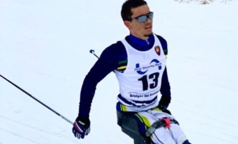 Atleta Cerejeirense conquista medalha de Ouro em competição de Para Ski nos Estados Unidos