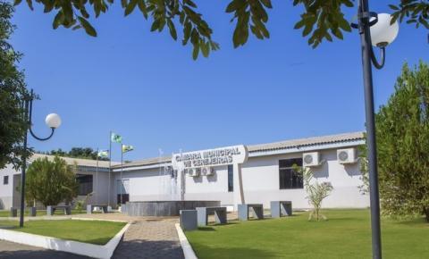 Primeira Sessão Legislativa de 2021 de Cerejeiras será realizada Hoje, 17
