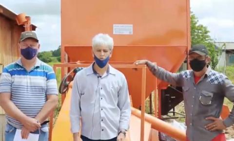 COLORADO: Deputado Chiquinho da Emater entrega fábrica de ração à COOPERSUL