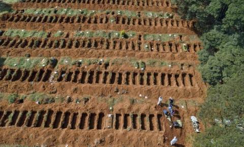 MAPA DA COVID: Em uma semana, Rondônia registrou mais de 170 mortes
