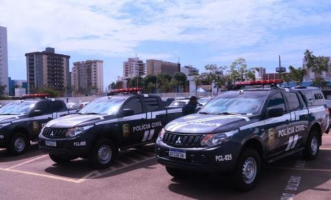 Polícia Civil recebe novas viaturas para reforçar o combate à criminalidade em Rondônia