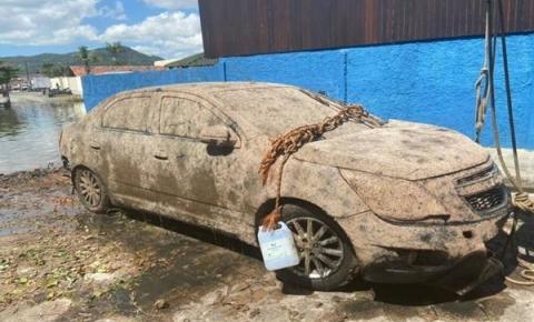 Corpo de empresário desaparecido é encontrado em carro no fundo de rio