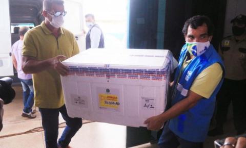 Rondônia recebeu 5º lote de vacinas contra a Covid-19 para dar sequência à imunização