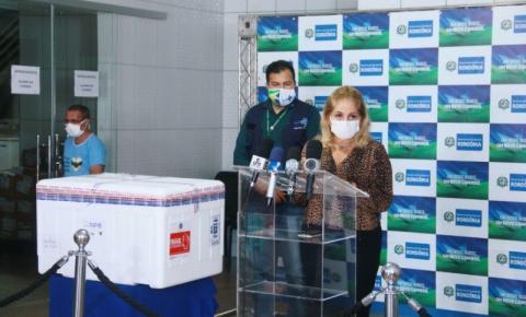 Rondônia recebe o 6º lote de vacina contra a Covid-19 para dar prosseguimento ao Plano de Imunização