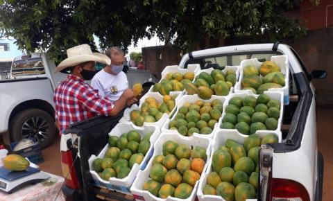Feira da Agricultura Familiar é realizada nesta sexta-feira (5) em Cerejeiras