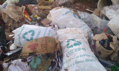 CRIME AMBIENTAL: Lixo é descartado em local inapropriado e causa revolta em Cerejeiras