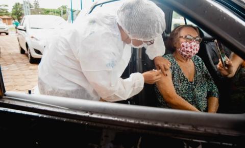 VILHENA: Idosos com 80 anos ou mais começam a receber segunda dose de vacina nesta quinta-feira, 11