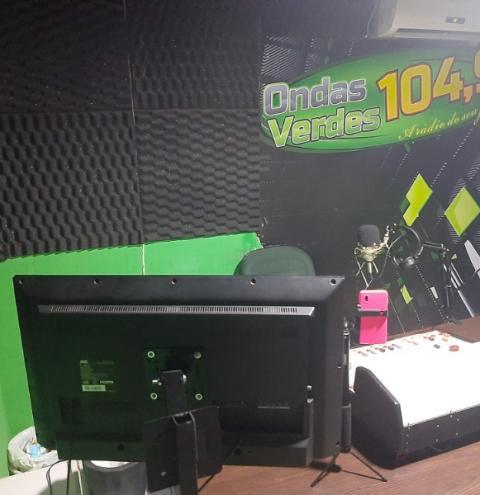 Rádio Ondas Verdes FM 104,9 investe em novos equipamentos para melhoria de qualidade em Cerejeiras